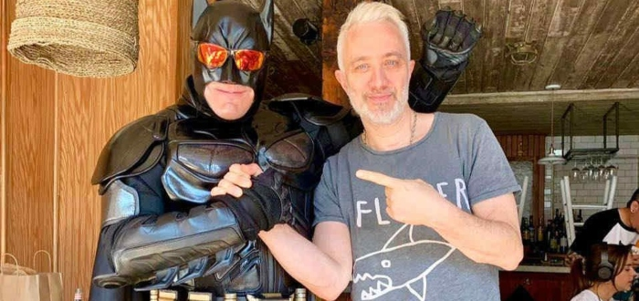 El Batman argentino, un héroe común, pero nada corriente