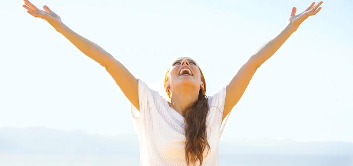cómo pensar en positivo y ser feliz