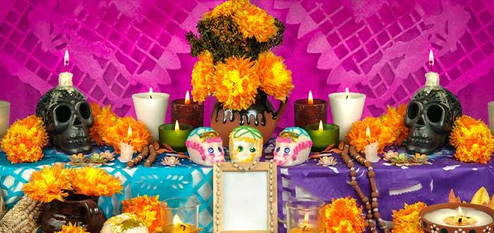 altar del Día de los Muertos