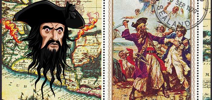 Historias de piratas reales Barbanegra