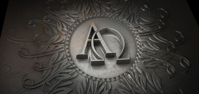 Símbolos cristianos, alfa y omega