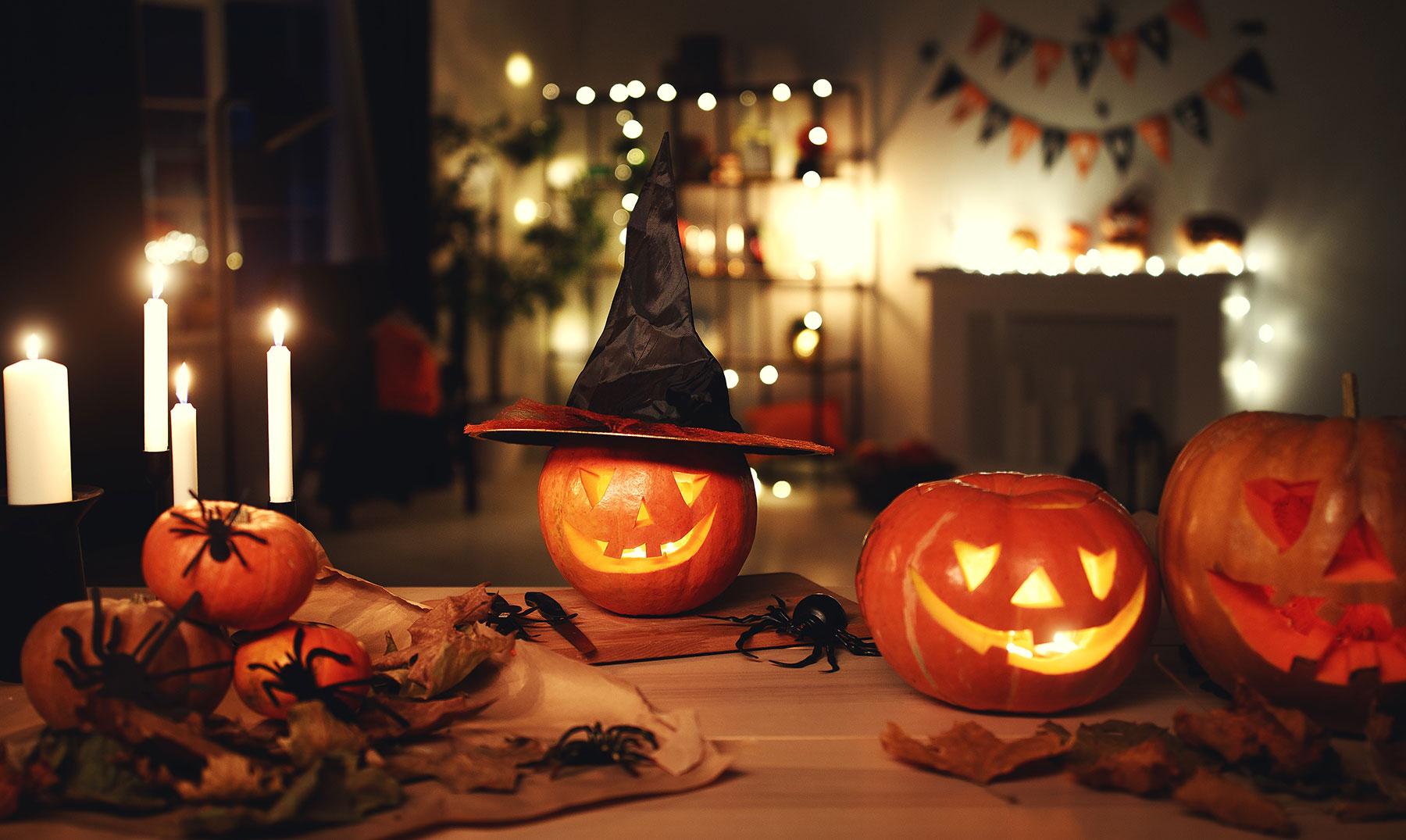 Halloween en casa