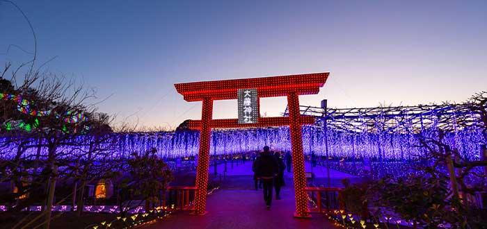 como llego la navidad a japon
