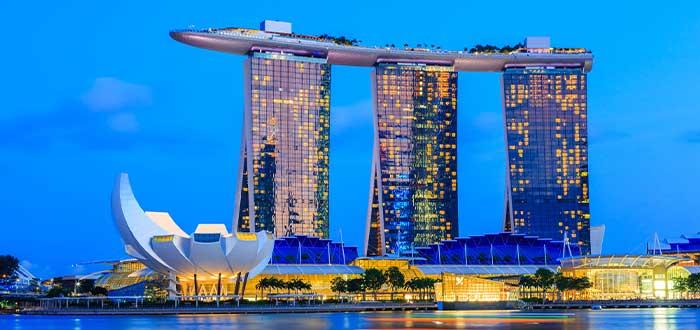 complejo marino de Singapur