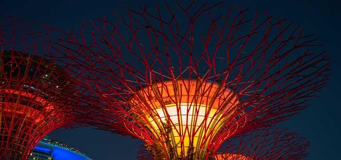 curiosidades de singapur jardines de la bahia