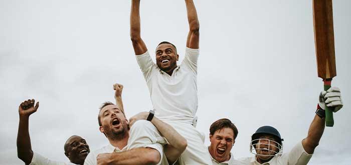juego de cricket tradiciones navideñas australiana