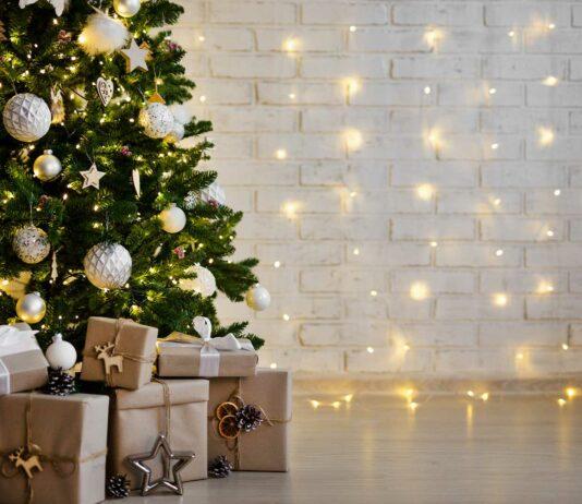 foto con santa claus en navidad