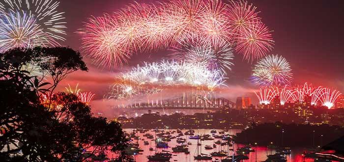 puente de Sydney como se celebra la Navidad en Australia