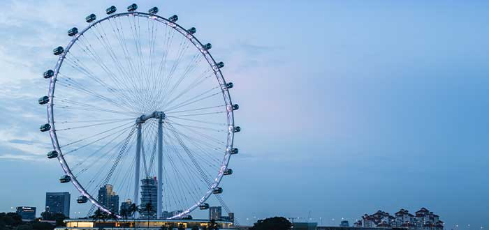 rueda de singapur