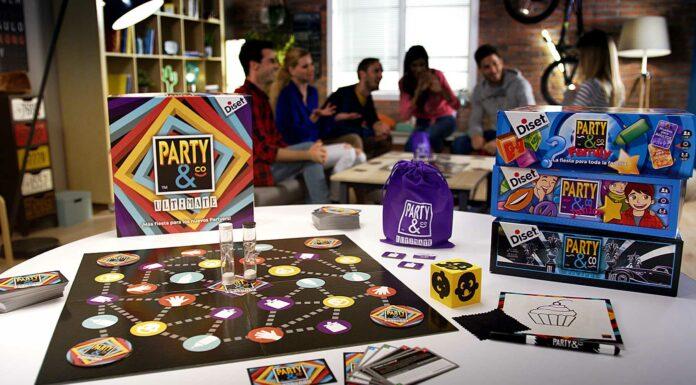 Party co juegos de mesa