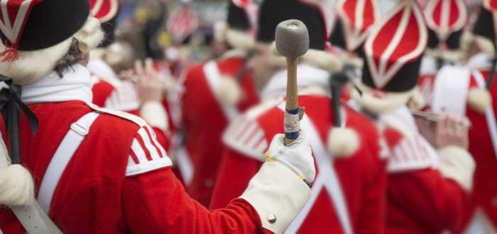 los mummers tradiciones navideñas canadienses