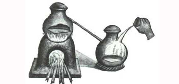 baño maria de la primera mujer alquimista