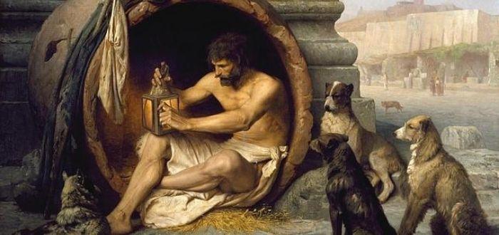 historia de Diógenes y Alejandro Magno