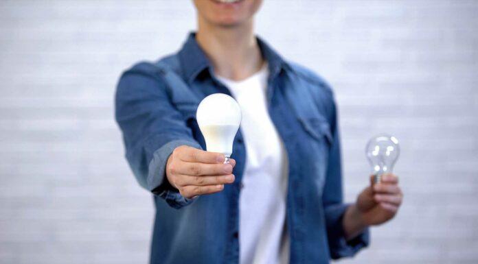cambiar a bombilla LED